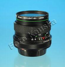 HANIMEX M.C AUTO 28mm/2.8 für Canon FD Objektiv defekt lens defective - 75485