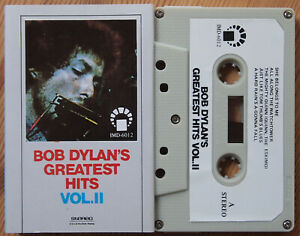 BOB-DYLAN-GREATEST-HITS-VOL-II-IMD-6012-UNOFFICIAL-CASSETTE-TAPE-EX-COND