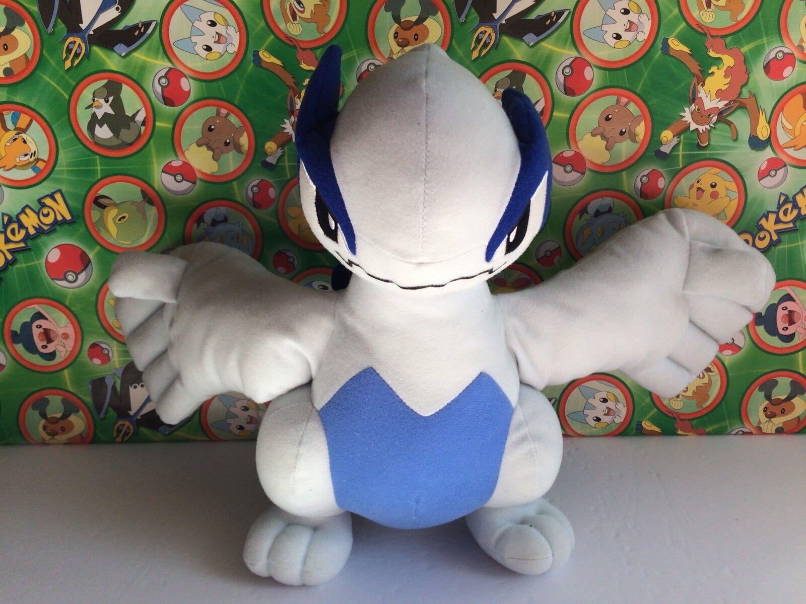 Pokemon Plush Lugia Doll 2009 DX UFO Prize 11  stuffed animal figure USA Seller