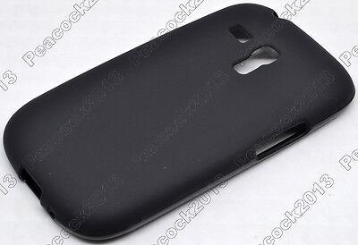 Black Matting TPU Silicone CASE Cover For Samsung Galaxy S III S3 Mini I8190