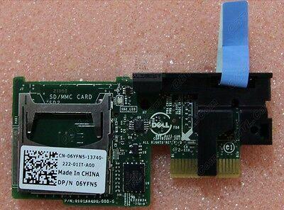New! Dell R720 R620 SD Card Module Reader 6YFN5 06YFN5 713392253984   eBay