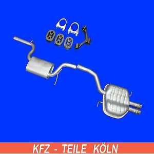 CC Variant 1.8 TSI 2.0 FSI Endschalldämpfer Auspuff Endtopf VW Passat