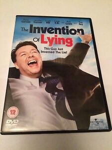 The Invention Of Lying DVD ricky gervais jennifer garner region 2 uk dvd - <span itemprop=availableAtOrFrom>Warlingham, United Kingdom</span> - The Invention Of Lying DVD ricky gervais jennifer garner region 2 uk dvd - Warlingham, United Kingdom