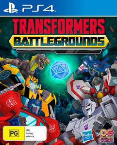 Transformers Battlegrounds PS4 Game NEW