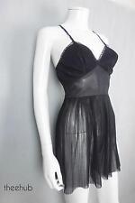 Saucy Vtg 50's Black New Look Fit Burlesque Boudoir Teddy Lingerie Charmaplease