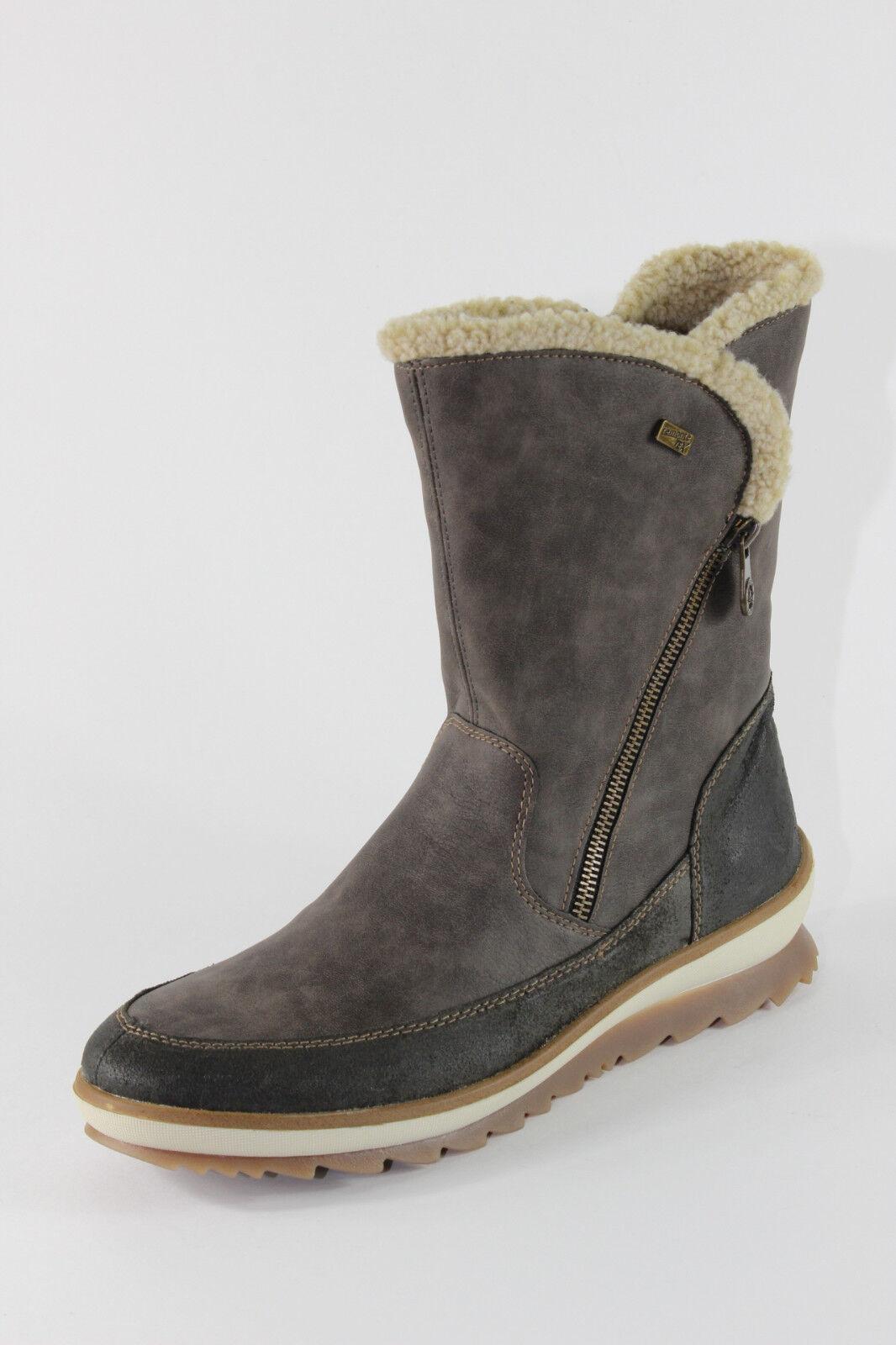 Remonte R4374-45, halbhohe Stiefel mit Lammwolle, Damenschuhe *Übergröße*