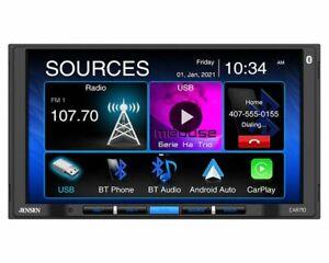 "Jensen CAR710 7"" Car Multimedia Receiver Bluetooth Apple Carplay & Android Auto"
