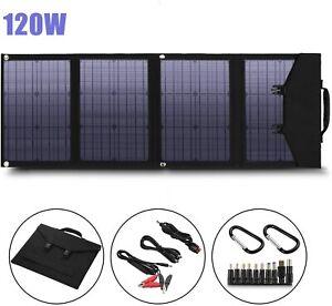 16~120W Foldable Solar Panel Solar Charger Portable Solar Panel Suaoki/Enkeeo