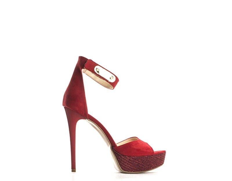 Schuhe PAPILLA Damenschuhe ROSSO Scamosciato,Tessuto 2675CAMRO