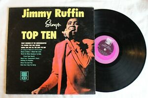 Jimmy-Ruffin-Sings-Top-Ten-Vinyl-LP-Soul-704-G-condition