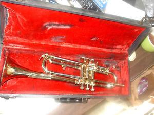 Expressif Vintage E.k. Blessing Trumpet-scholastic Sn#390231 (1989) Usa-stic Sn#390231(1989) Usa Fr-fr Afficher Le Titre D'origine
