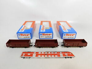 CE844-0-5-3x-Roco-H0-DC-46010-Gueterwagen-505-4-998-1-DB-NEM-NEUW-OVP