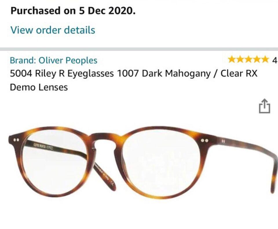 Oliver Peoples brillestel