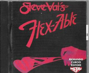 CD-ALBUM-PROMO-ITALIEN-11-TITRES-STEVE-VAI-FLEXABLE-1992