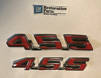 GTO Rocker emblems 68 69 70 71 72 400 NEW LeMans AB018