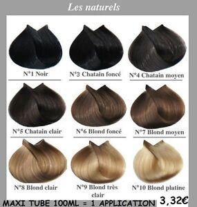 Coloration cheveux ou meches