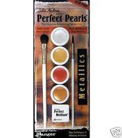 Ranger Perfect Pearls - Metallics S 4 Colors W/medium