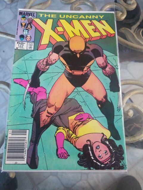 The Uncanny X-Men Comic Book #177 Marvel Comics 1984 NEAR MINT NEW UNREAD