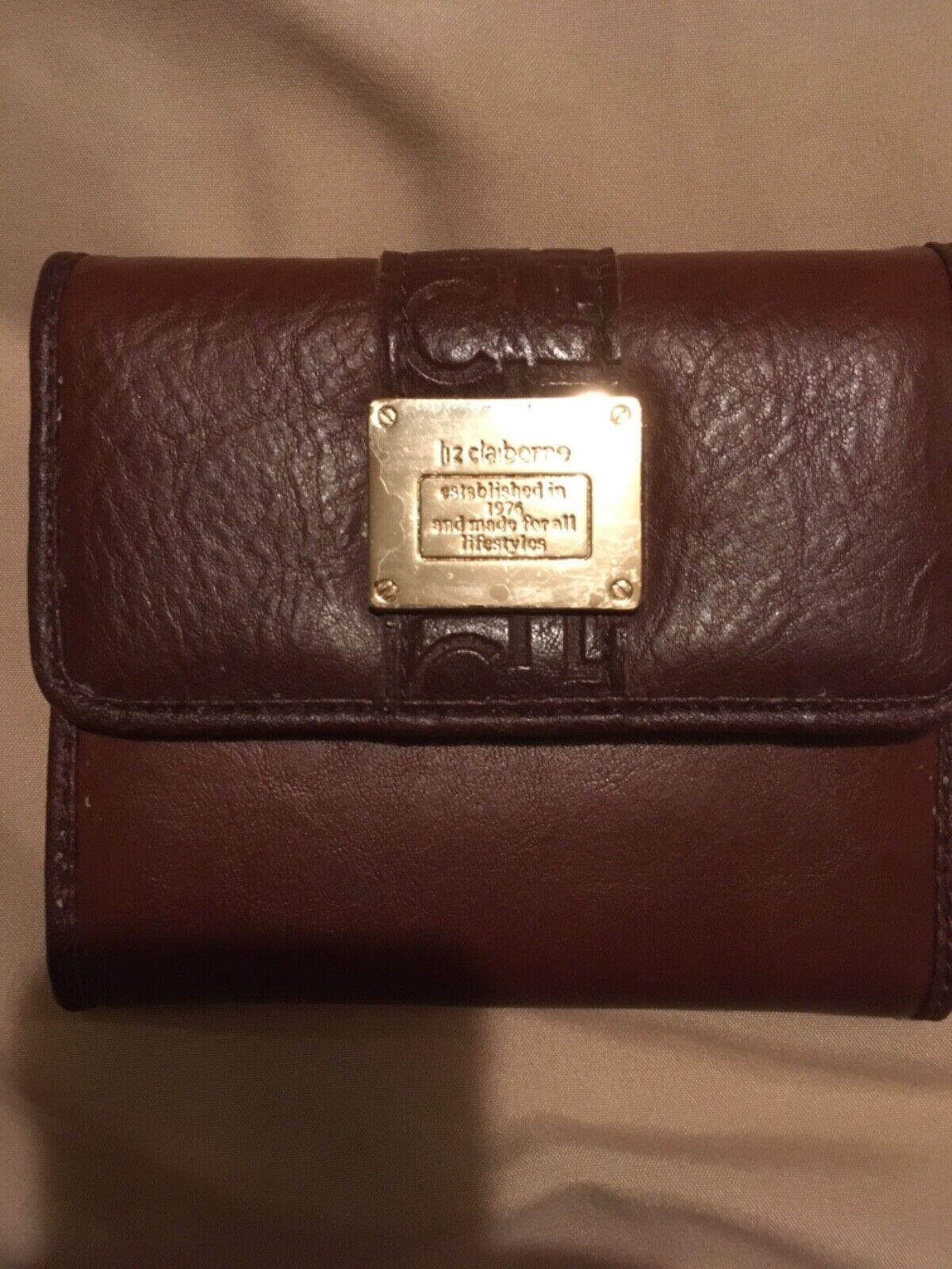 Liz Claiborne Brown Wallet