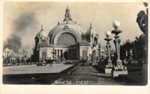 RPPC-FESTIVAL-HALL-San-Francisco-PPIE-1915-Expo-NOKO-Vintage-Photo-Postcard