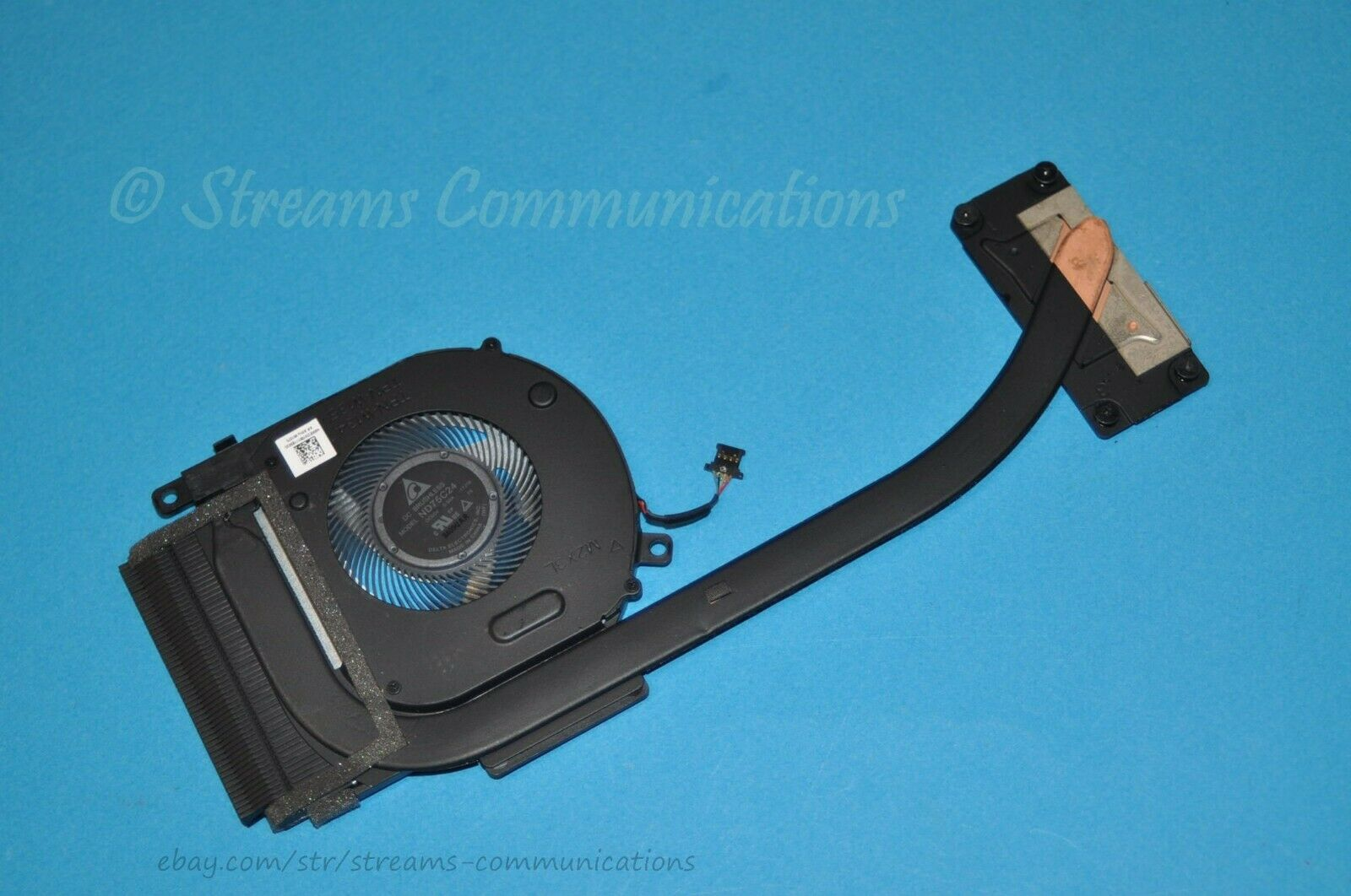 HP ENVY x360 15-CP 15-cp0053cl Laptop CPU Cooling Fan with Heat Sink