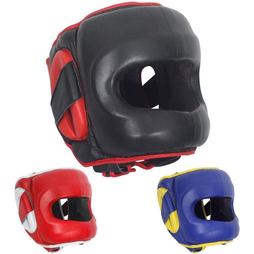 Ringside Deluxe Face Saver Boxing Sparring Kopfbedeckung
