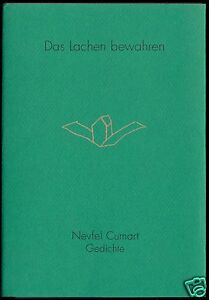 Cumart-Nevfel-Das-Lachen-bewahren-Gedichte-1995-signiert