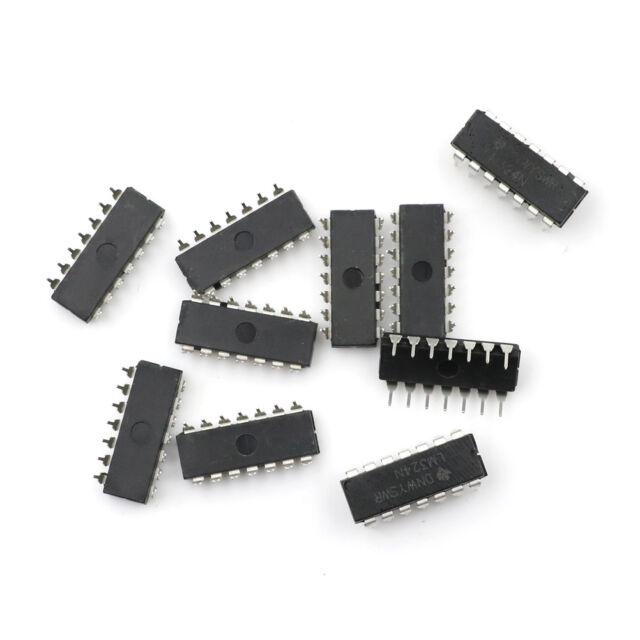 10pcs LM324N LM324 DIP-14 TI Low Power Quad Op-Amp IC Chip Nic xh
