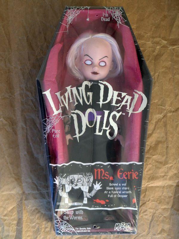 Living Dead Dolls Serie 4 MS inquietante sellado original de Fábrica Versión de Japón Rareza