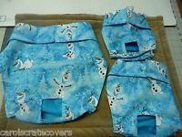 Frozen Snowman Male Dog Diaper Panty Adjustable Elastic Carols Crate Covers