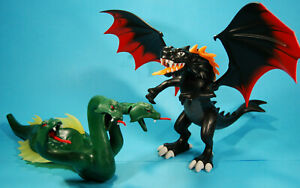 Playmobil lote medieval juego de tronos dragon dragón 5482 hidra 4805 ver fotos
