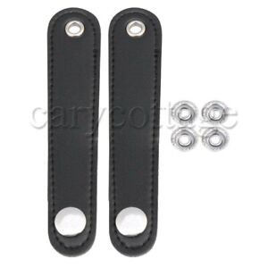 2x-Adjustable-Accordian-Bellows-Straps-Full-Leather-for-Bass-Accordion-14x2-5cm