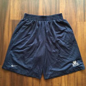 VTG-90s-Nike-Shorts-Mens-Large-Butler-University-College-Streetwear-Blue-Pockets