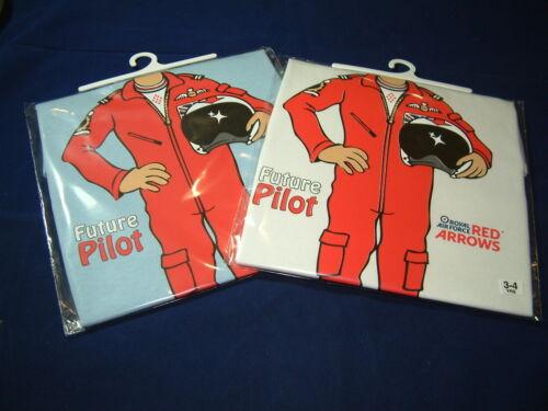 FUTURE RAF RED ARROWS PILOT T SHIRT WHITE