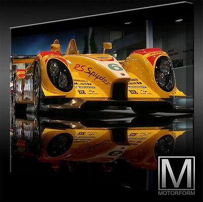 Auto & Motorrad: Teile Porsche Rs Spyder Lemans Leinwand Bild Canvas Art Kunstdruck Echtes Leinwandbild