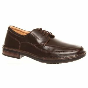 MENS-GROSBY-BRUCE-BROWN-DRESS-WORK-FORMAL-DRESS-SHOES-MEN-039-S-LACE-UP-SHOES
