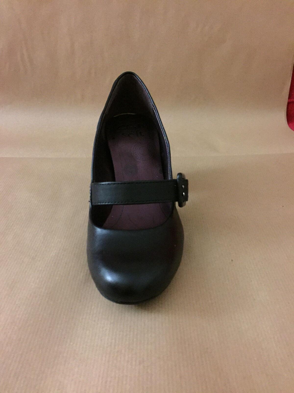 scarpe donna clarks pelle nera n.3  (35.5)