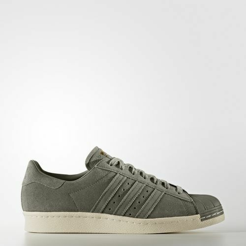 new arrival 66050 f6959 Adidas Superstar 80 S en Daim Baskets Cargo gold UK 6 EU 39.3 EM35 97