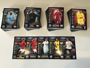 MATCH-ATTAX-101-2019-FULL-SET-OF-174-CARDS-LIMITED-EDITION-MINT