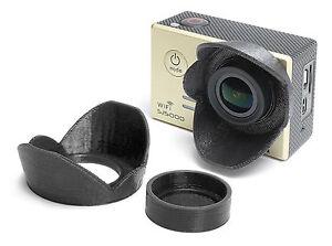Sonnenblende-Lens-Hood-fuer-SJCAM-SJ5000-SJ5000-Sun-Shade-Cap-Linsen-Schutz