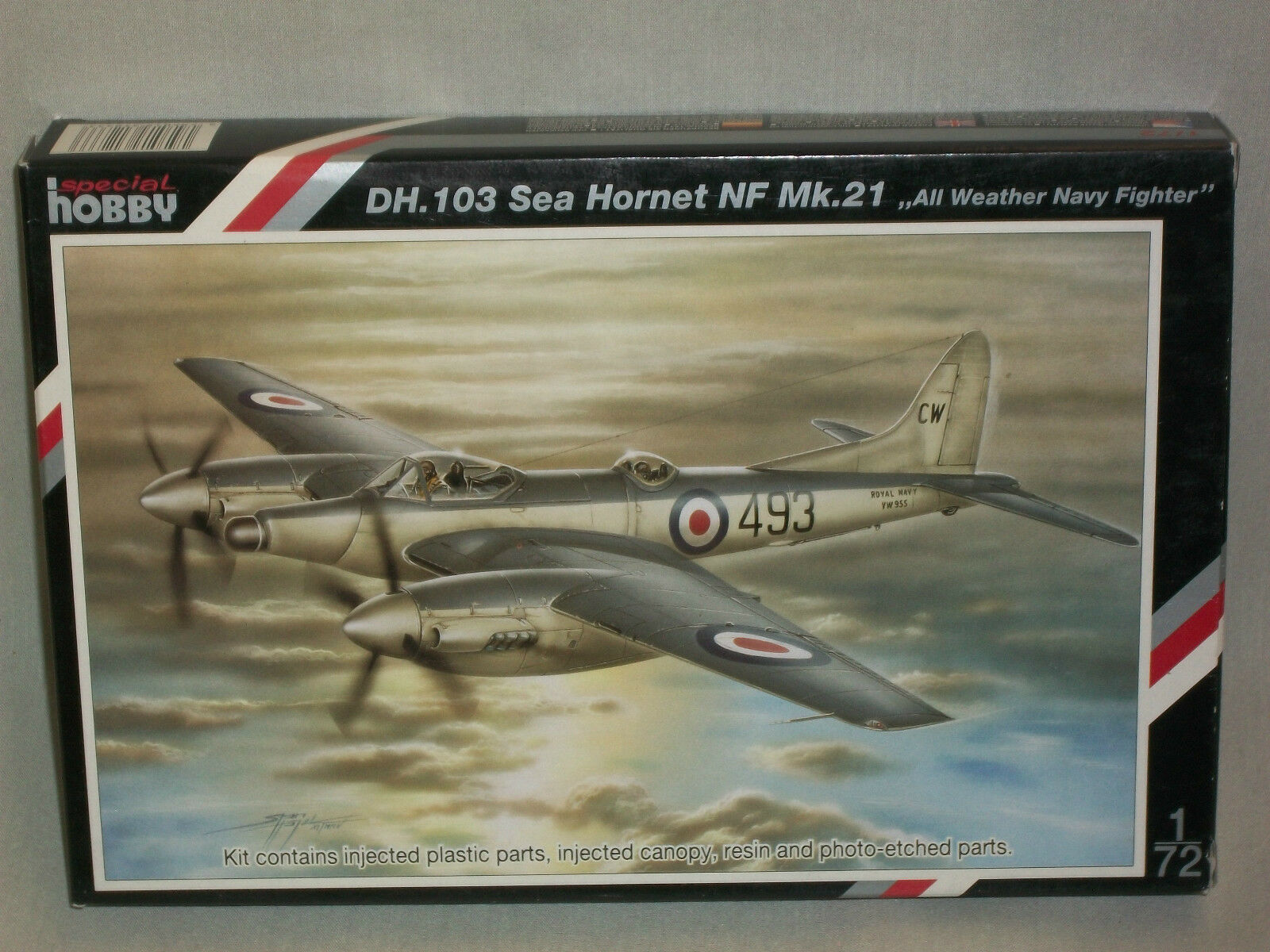 Special Hobby 1 72 Scale D.H. 103 Sea Hornet NF Mk.21