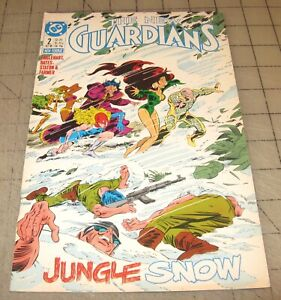The NEW GUARDIANS #2 (Oct 1988) FN+ Condition Comic - 1st Appearance SNOW FLAME