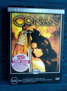 CONAN-THE-BARBARIAN-SPECIAL-EDITION-DVD-2-DISC-SET-R-4-LIKE-NEW-FREE-POST