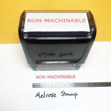 New Listingnonmachinable Rubber Stamp Red Ink Self Inking Ideal 4913
