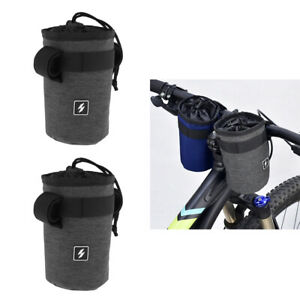 Set-of-2-Cycling-Handlebar-Kettle-Bag-Handlebar-Stem-Pouch-Bicycle-Accessory