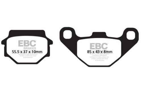 MK1 FIT APACHE  RLX 250 SX Rear Disc Model  EBC FRONT ORGANIC BRAKE PADS