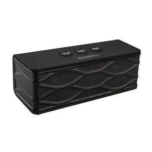 NINETEC-POWERBLASTER-2in1-Bluetooth-Speaker-Lautsprecher-mit-Power-Bank-Black