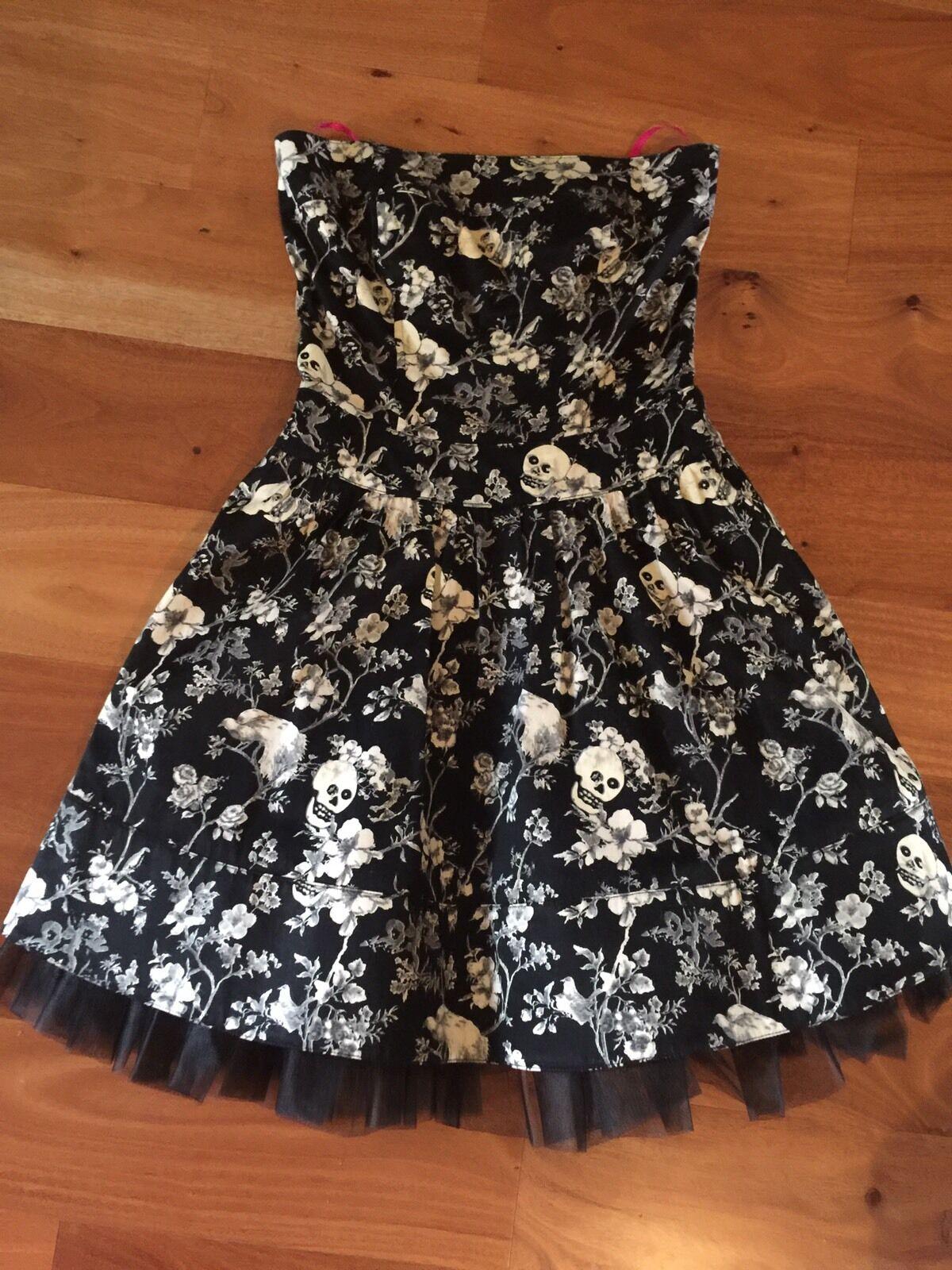 Betsey Johnson Rockabilly Skulls Dress 2