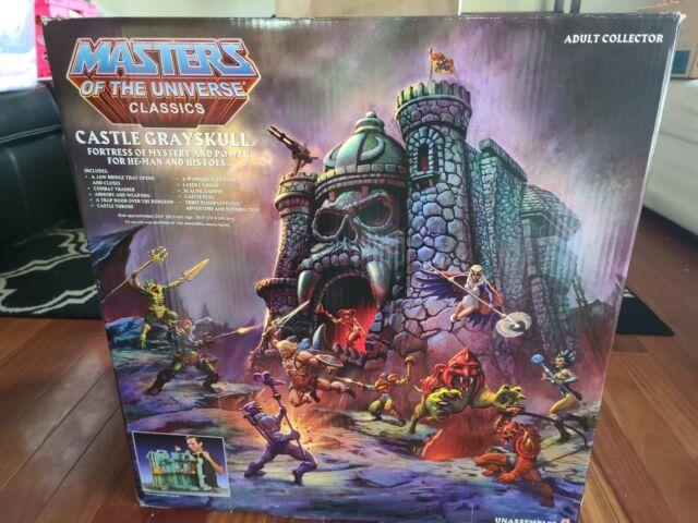 Mattel He-Man CASTLE GRAYSKULL Masters of the Universe Classics MOTU MOTUC New