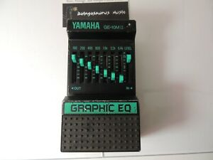 Vintage Yamaha GE-10M II 2 Equalizer Effects Pedal 7 Band EQ Free USA Shipping